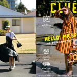 Launer London handbag is introduced in otona CLUEL magazine.