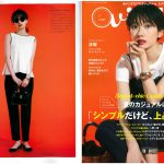 Launer London handbag is introduced in Vikka magazine.