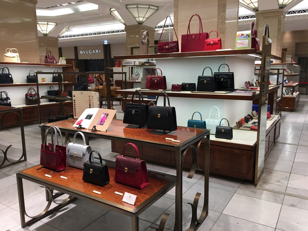 NIHONBASHI MITSUKOSHI Launer London official limited store is opened.