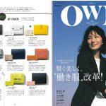 Launer London handbag is introduced in OWN magazine.