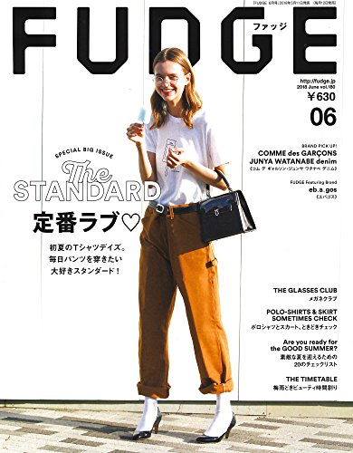 Launer London handbag is introduced in Fudge magazine.