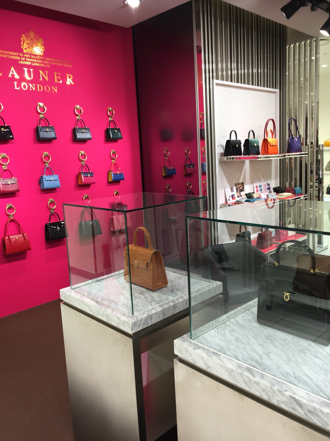 Launer London official limited store at ISETAN SHINJUKU is now open
