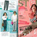 Launer London handbag is introduced in STORY magazine.