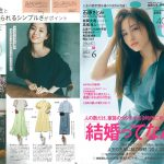 Launer London handbag is introduced in 『with』 magazine.